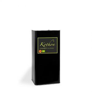 kothon, olio extravergine di oliva, belice, lattina olio